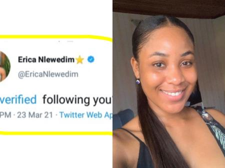 Mixed reactions after Erica reportedly shade other Big Brother Naija Housemates