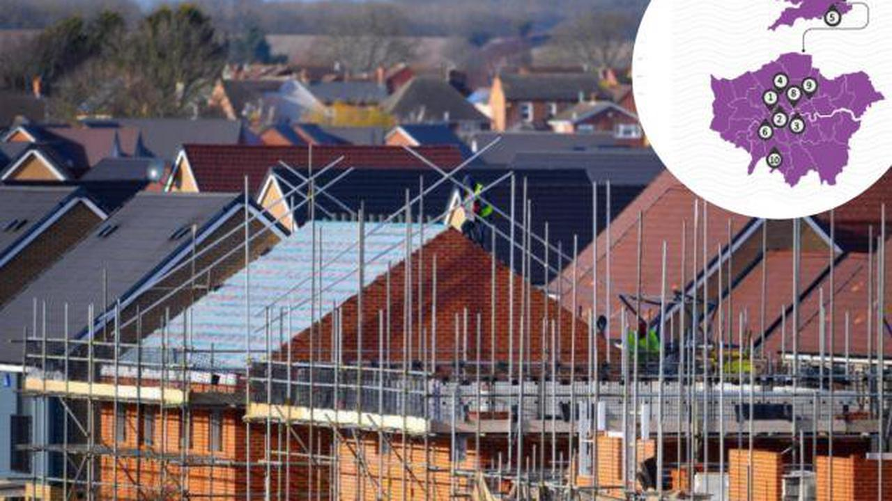Borough named as the cheapest place to buy a new build house in London