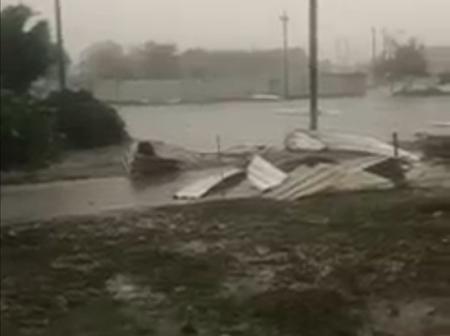 Seguela : une tempête détruit le stade Losséni Soumahoro, l'un des lieux pour les obsèques d'HamBak