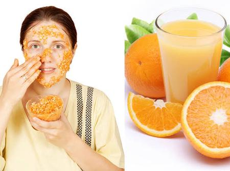 Check out what orange has been doing to your skin