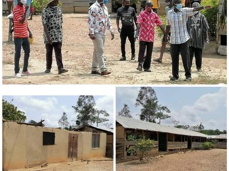 MCE Weeps As Rainstorm Rips Off The Only School In Prestea; Calls Chief And Residents