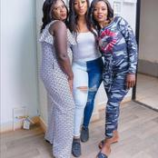Netizens Praise Diana Marua After Doing This To Her Nannies On Women's Day
