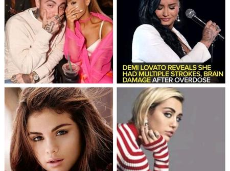 Apart From Demi Lovato's Drug Overdose, See Other Celebs Who've been caught Up By The Act