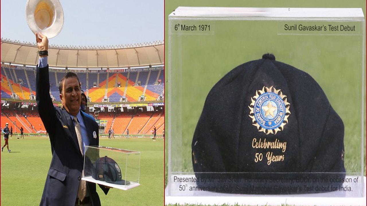 BCCI felicitates Sunil Gavaskar on 50th anniversary of Test debut