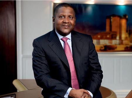 Check out the pictures and luxurious cars Mr Aliko Dangote.