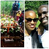 Tears Flow As The Two Young Couple Who Died In A Grisly Accident Are Laid To Rest