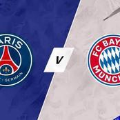PSG To Humble Bayern Munich In Their 2nd Leg Champions League Clash.
