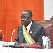 Construction de la Nation Ivoirienne: Le message plein de sens du président du Sénat, Ahoussou J.