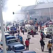 Durban shops on fire and social media reacted see the comments