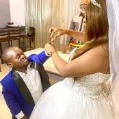 Voici les photos de mariage de ce couple particulier qui créent le buzz
