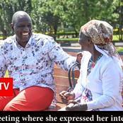 Finally 'Shushu wa Gikandu' Meets Deputy President William Ruto And Leaves Him In Stiches (Photos)