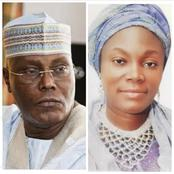 Meet Atiku's Daughter Fatima Who Once Served As Commissioner