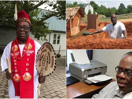 Meet The Nigerian Man That Build The Famous Igbo Village In USA, And His Reason For Building It