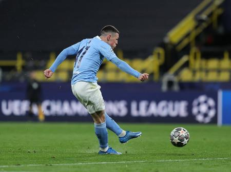 UEFA reacts after Man City youngster becomes the 2nd youngest player to achieve this feat in UCL Q/F