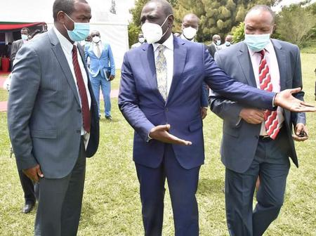Your Camp Is Full Of Threats And Intimidation, Prominent Businessman Buzeki Tells DP William Ruto
