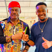 See how people reacted at Governor Willie Obiano's photos with Zubby Michael