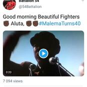 WATCH: An Old Video Of A Young Julius Malema Addressing black People Has Re-Surfaced. Tweeps Reacts!