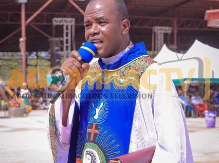 Mbaka Donates N12.5Million For The Work Of God In His Diocese, Vows To Put His Best In Every Aspect