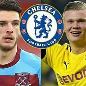 Latest Chelsea Transfer Updates on Erling Halaand, Declan Rice, Tomori & Drinkwater Moves