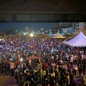 Images Of Nigerian Youths Keeping Vigil Just To Save Their Nation