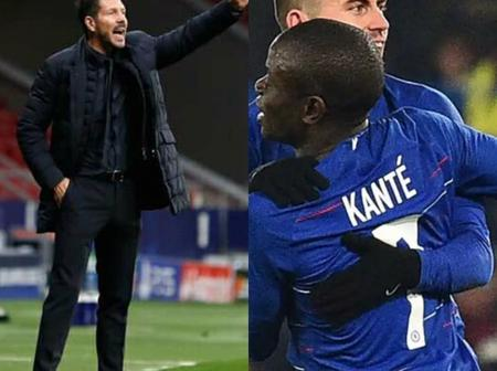 Check out What Diego Simeone Said About Ngolo Kante and Chelsea that may be false