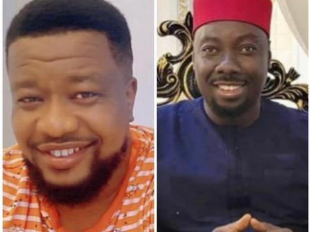 Browny Igboegwu Stuns In Lovely Photos With Obi Cubana, Celebrates Him