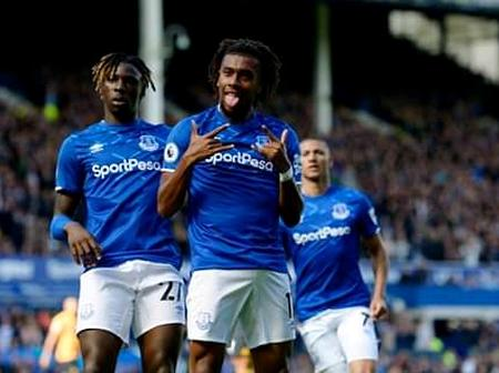 Iwobi Impresses Defensively In Everton's 3-1 Defeat To Ighalo-less Manchester United