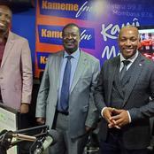 What Mudavadi Told Kikuyu Nation Today During Kameme FM Interview