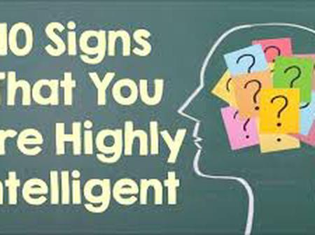 Signs you are highly intelligent