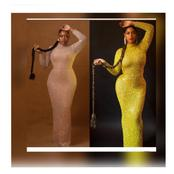 Between Beyonce and Bisola, Who Rocked This Style Better?