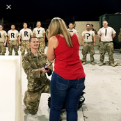 Lovely Photos Of Soldiers Proposing To Their Girlfriends In Nigeria And Around The World