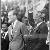 Rare Photos of Prince Philip With Mzee Jomo Kenyatta in Kenya After Kenya Attained Independence