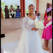 La photo du jour : découvrez Coco Emilia dans sa magnifique robe de mariage