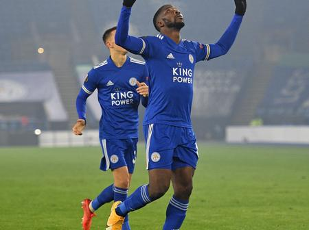 Kelechi Iheanacho breaks a new record after scoring a brace in Leicester City's victory in UEL