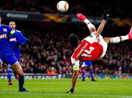 Aubameyang reprend l'entraînement avec Arsenal!