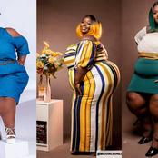 7 Beautiful Photos Of Precious Mensah That Proves She Is The Most Renowned Plus-Size Model In Ghana