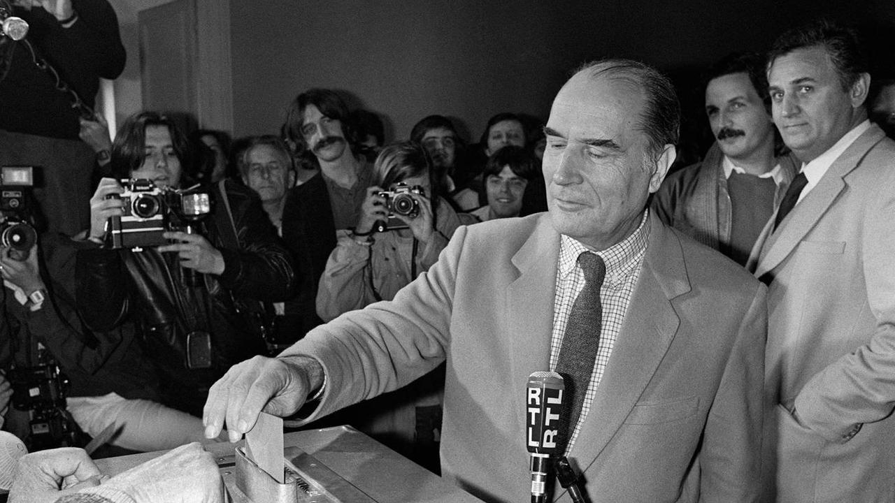 Il y a 40 ans, Mitterrand devenait le premier président socialiste de la Ve République