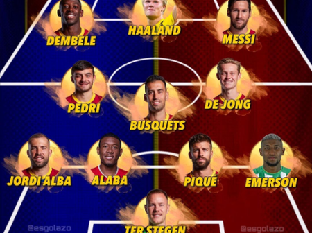 The Best formation FC Barcelona Could Adapt Next Season And Win Treble