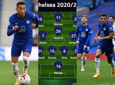 Pulisic & Ziyech To Lead The Attack In Chelsea's Incredible XI Against Southampton Next Week