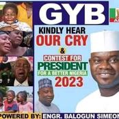 See This Presidential Poster Of Governor Yahaya Bello That Is Causing Reactions