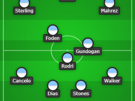 Manchester city's predicted 4-3-3 formation that will destroy Liverpool at Anfield Today