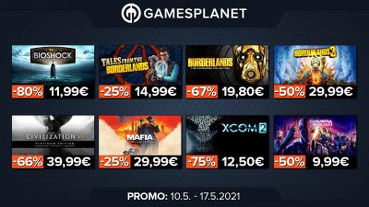 BON PLAN chez Gamesplanet : 30 jeux Take-Two Interactive en promotion