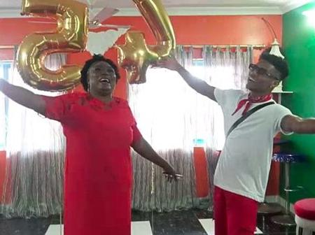WATCH: Kidi Surprises Veteran Actress Irene Opare On Her 54th Birthday