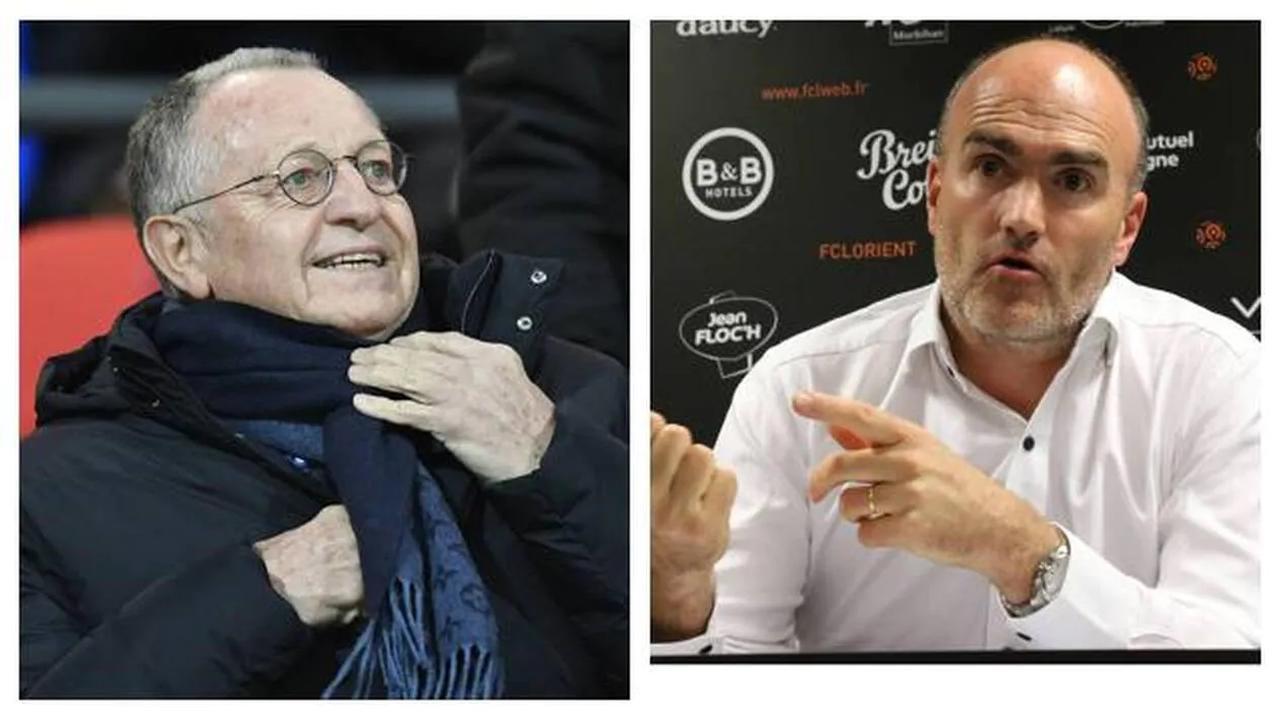 Aulas et Féry font monter la pression sur l'arbitrage avant Olympique Lyonnais – FC Lorient