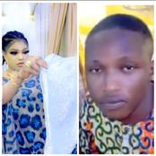 Reactions As Bobrisky Gifts A Young Guy New Clothes(video)