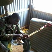 Police Officer Caught on Camera Eating Using a Spade Causes Debate Online