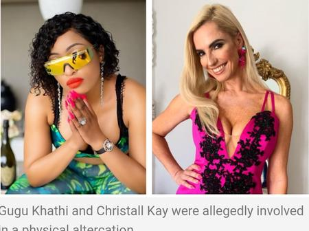 Real House wives of Jozi ends. The non disclosures are also gone. Now stars can sue each other.