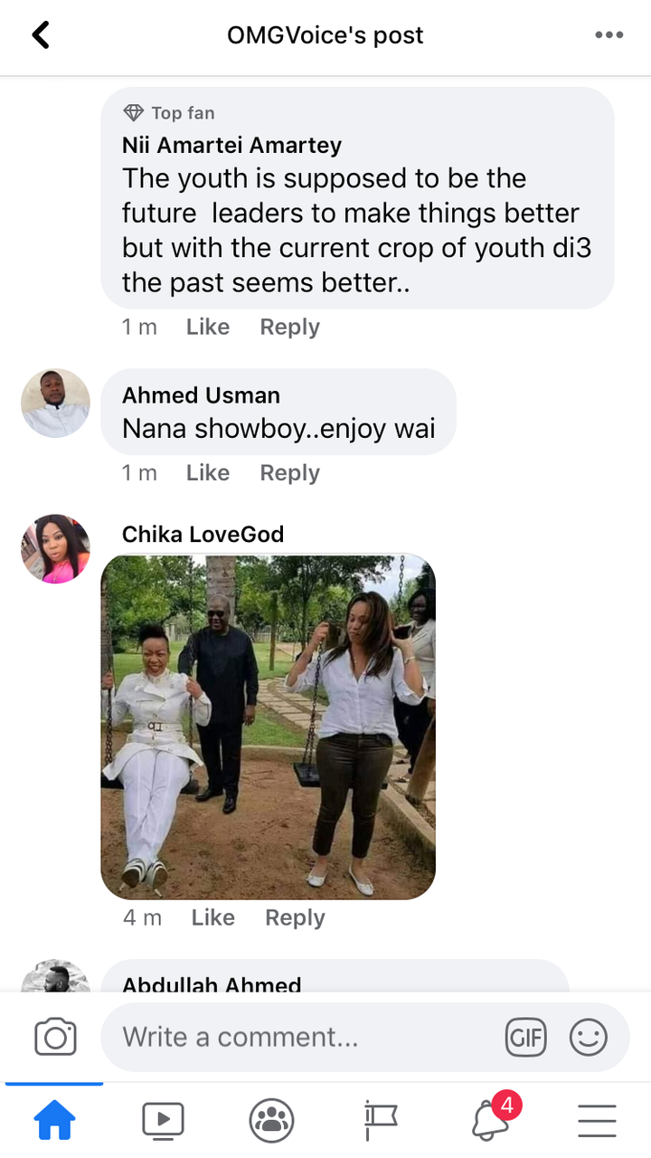 """b82422c83015633d3f5b282f1f37b136?quality=uhq&resize=720 - He's The Real (Papa No)"""" - Ghanaians Reacts To A Photo Of Nana Addo Having A Good Time With A Lady"""