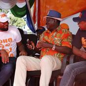 Amason Kingi Turns-up in Raila's Meeting