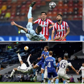 Dele Alli Saw Olivier Giroud's Bicycle Kick And Decided To Take It Personal. (Photos).